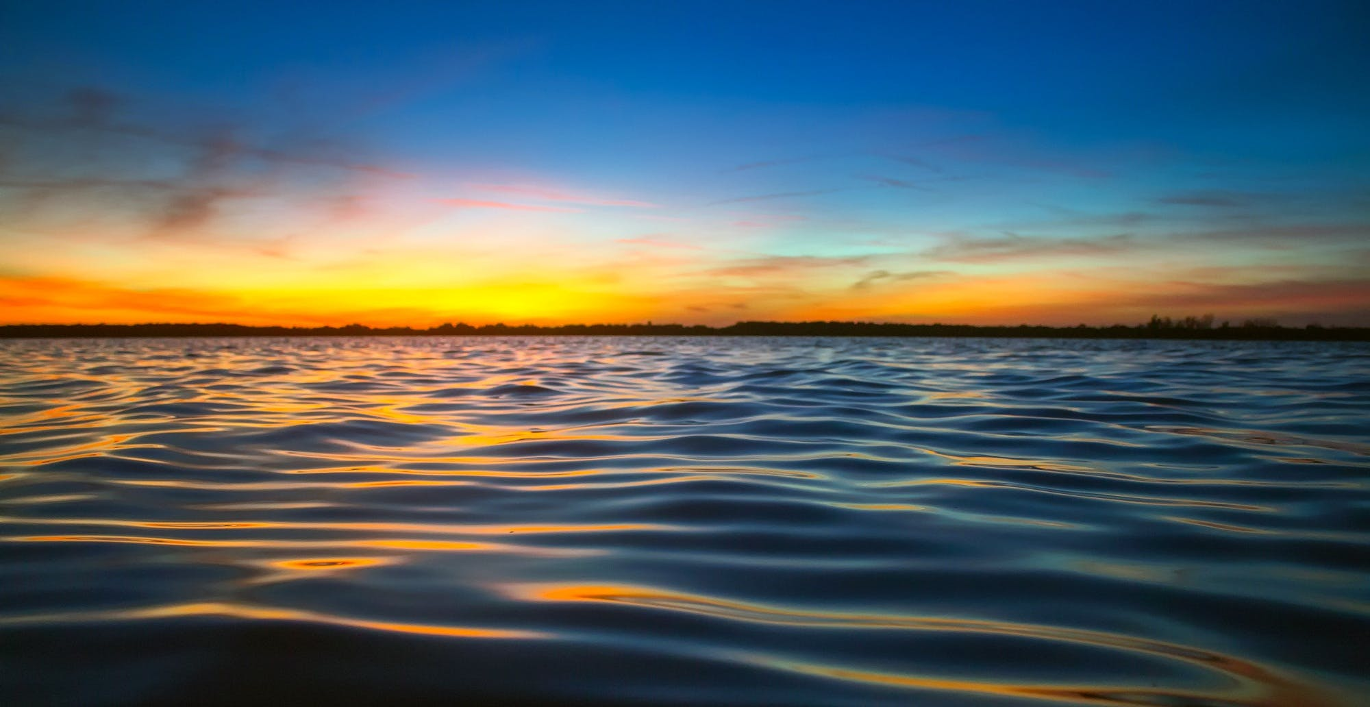 Free stock photo of nature, sky, sunset, water