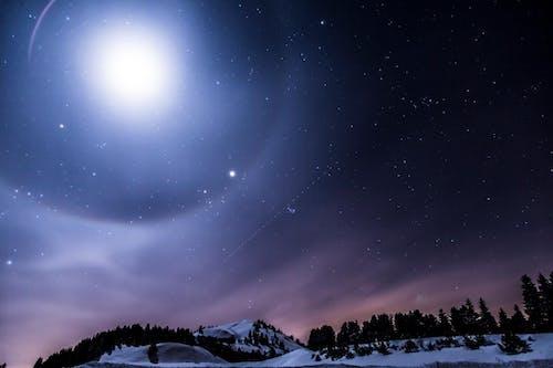 傍晚的天空, 冬季, 占星術, 夜空 的 免費圖庫相片