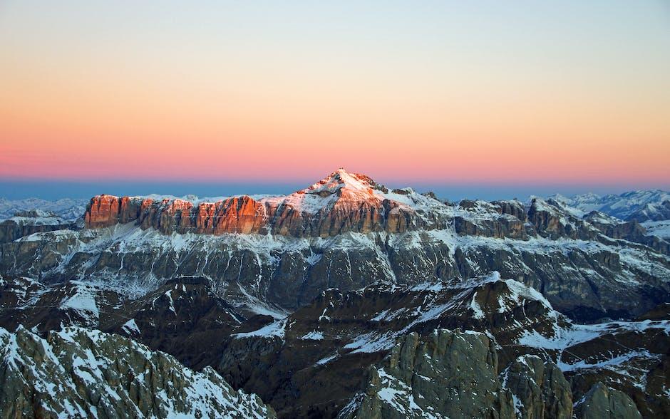Adventure alps cold dawn