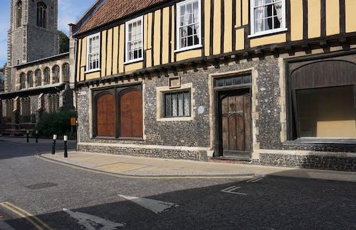 Základová fotografie zdarma na téma budova, historická budova, klasický, silnice