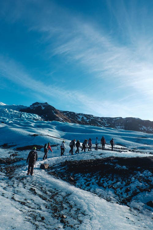 Free stock photo of adventure, blue, expedition, glacier
