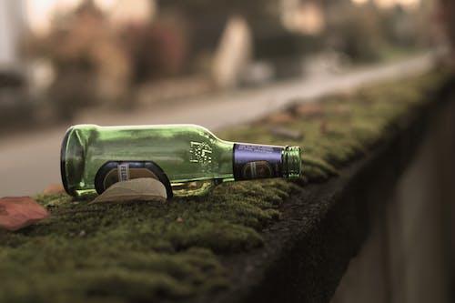 Free stock photo of abandoned, alcohol bottle, alone, autumn