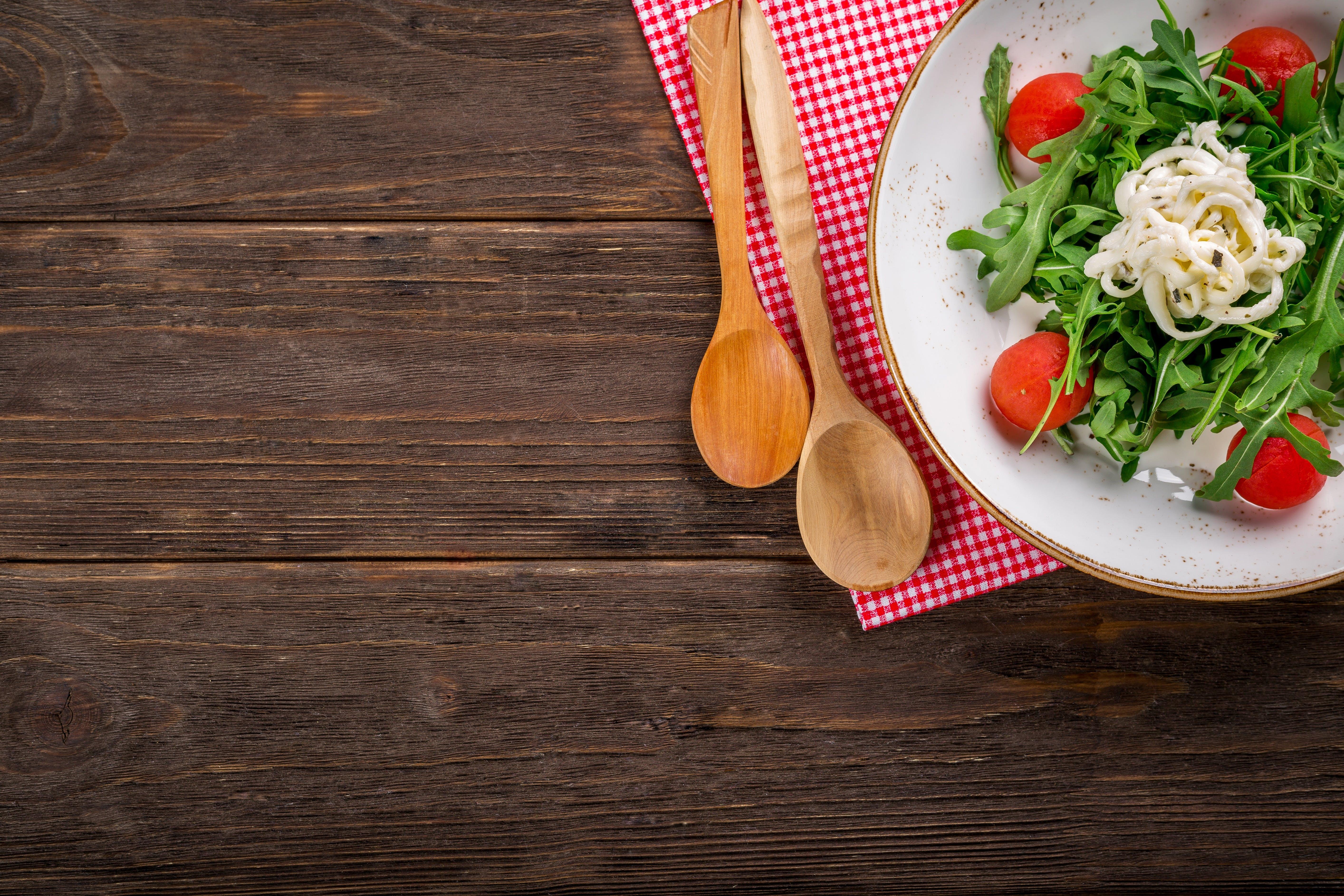 Foto profissional grátis de alimento, almoço, Aperitivo, colheres