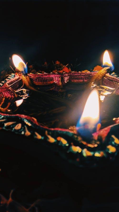 Free stock photo of Diwali, flame, flames, gave