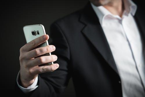 人, 套裝, 智慧手機, 正式 的 免费素材照片