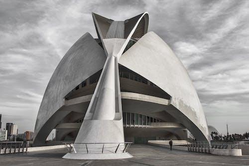 Δωρεάν στοκ φωτογραφιών με αρχιτεκτονική, ασπρόμαυρο, αστικός, ατσάλι