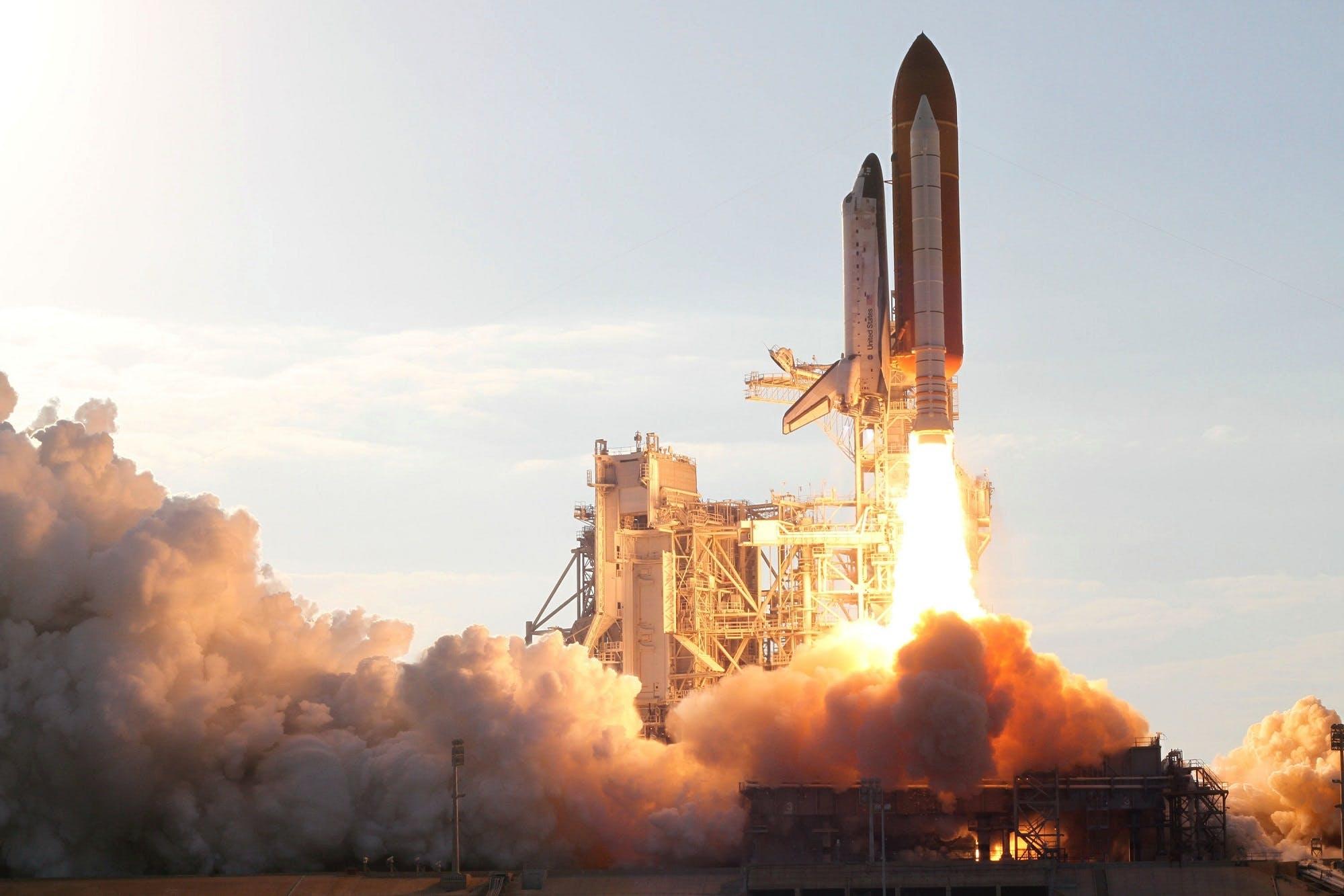 Free stock photo of flight, sky, launch, exploration