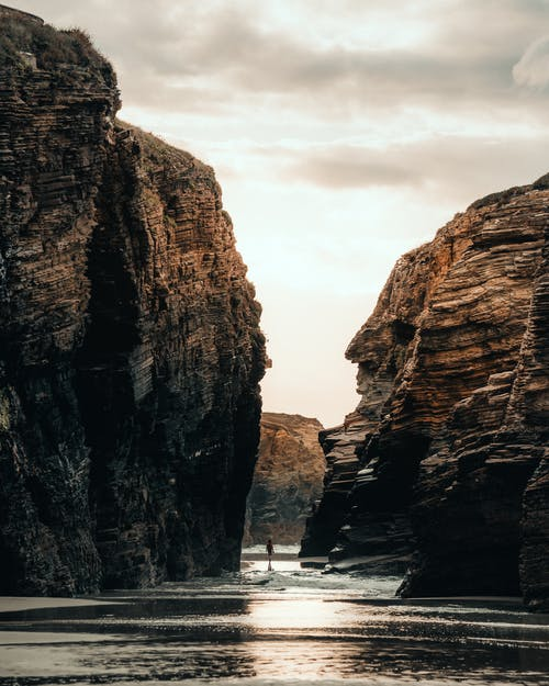 Photography of Rock Formation