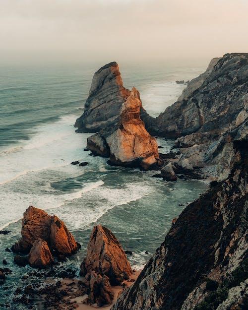 Základová fotografie zdarma na téma kameny, krajina, malebný, moře