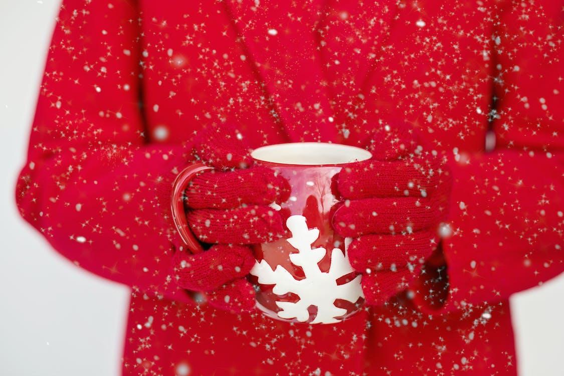 aquecido, bebida, café