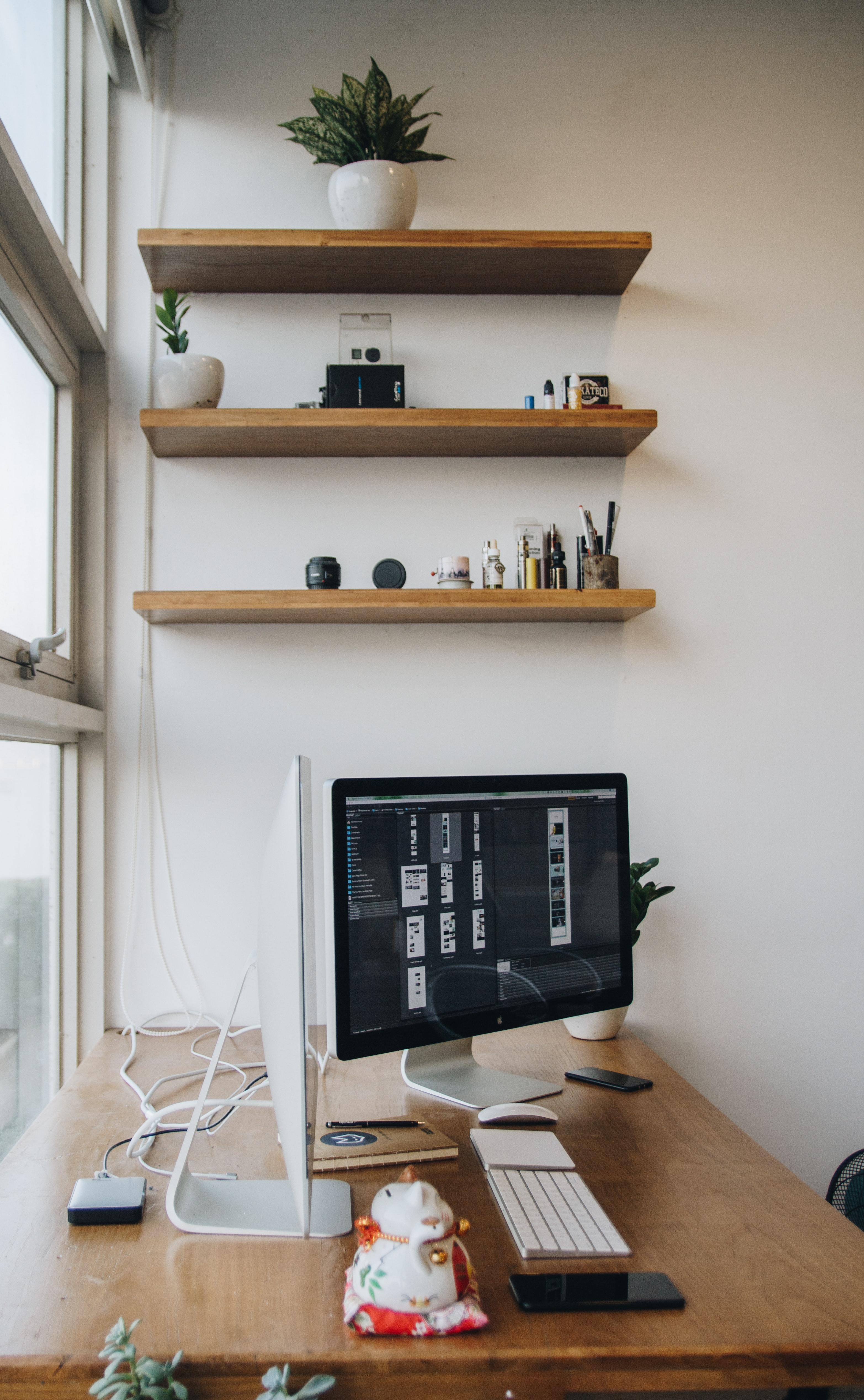 Imac On Desk 183 Free Stock Photo
