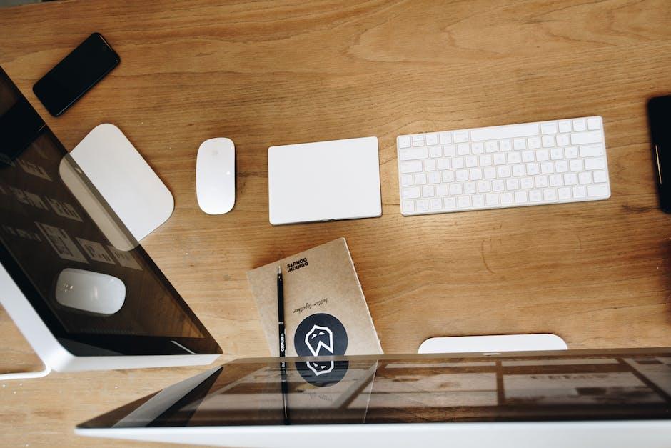 New free stock photo of apple, desk, technology