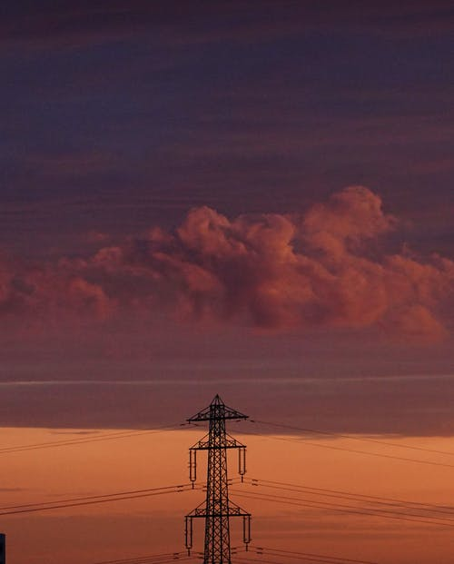 Бесплатное стоковое фото с iphone, башня, бензин, вечер-небо