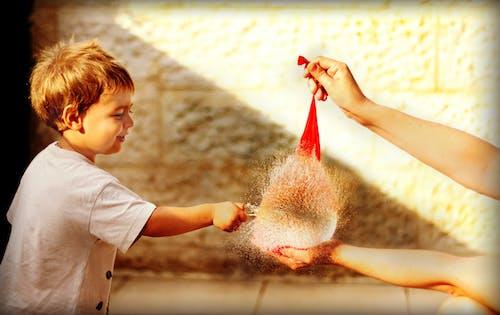 Ingyenes stockfotó aranyos, baba, ballon, boldogság témában