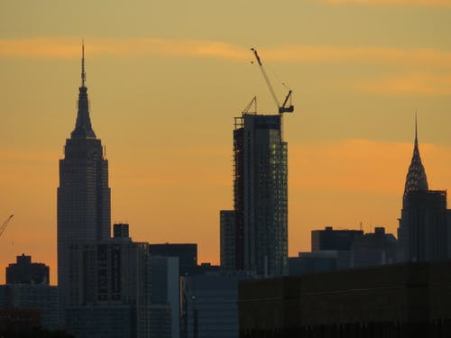 Základová fotografie zdarma na téma architektura, budova chrysleru, empire state, Empire State Building
