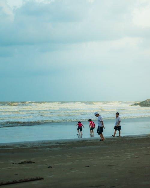 Free stock photo of beach, candid, kids, Malaysia