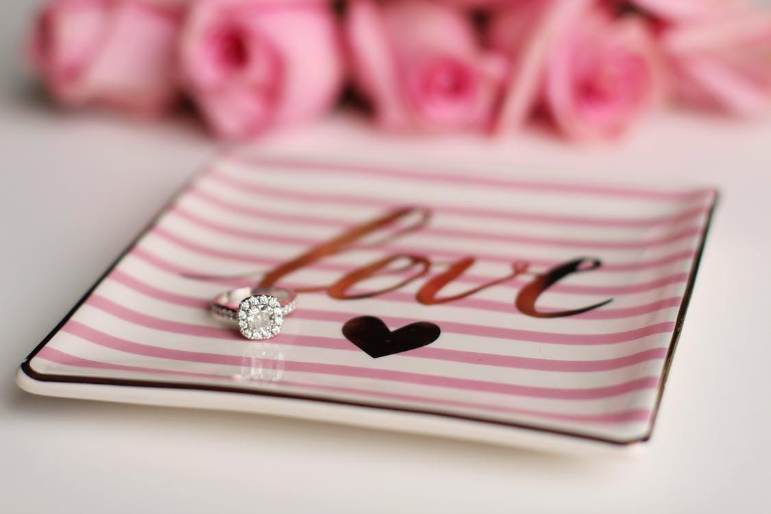 бриллиант, валентинов день, кольцо