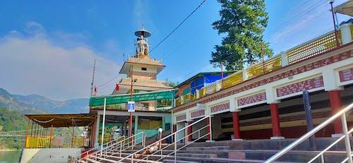 Free stock photo of laxman jhula, ram jhoola, rishikesh