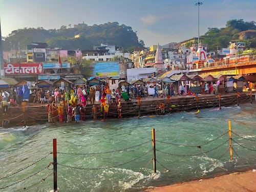 Free stock photo of ganga, ganga river, har ki pauri