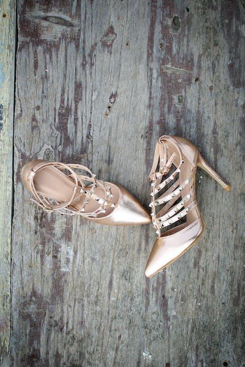 Imagine de stoc gratuită din aur, elegant, încălțăminte, modă