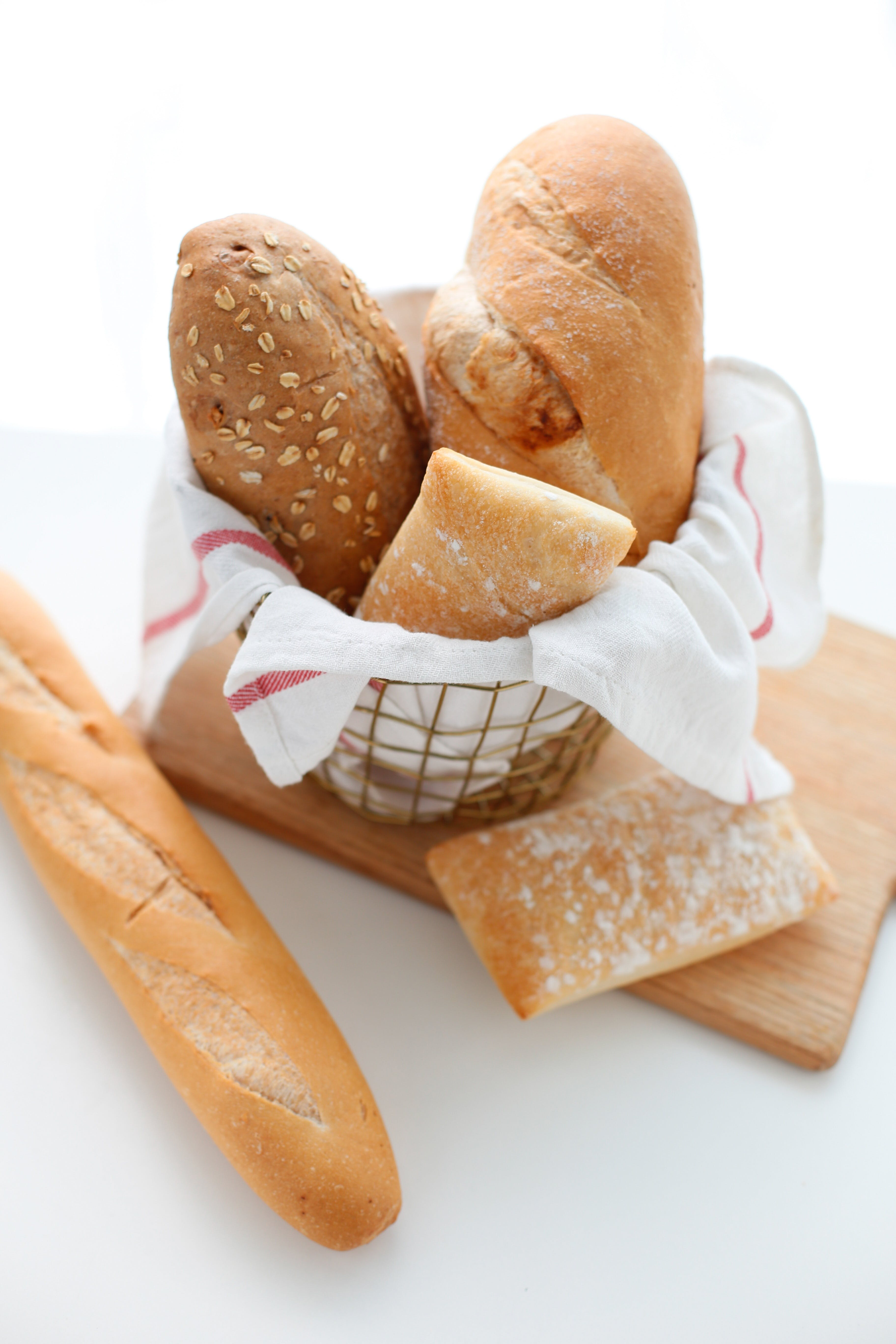 Free stock photo of bread, health, gourmet, baguettes