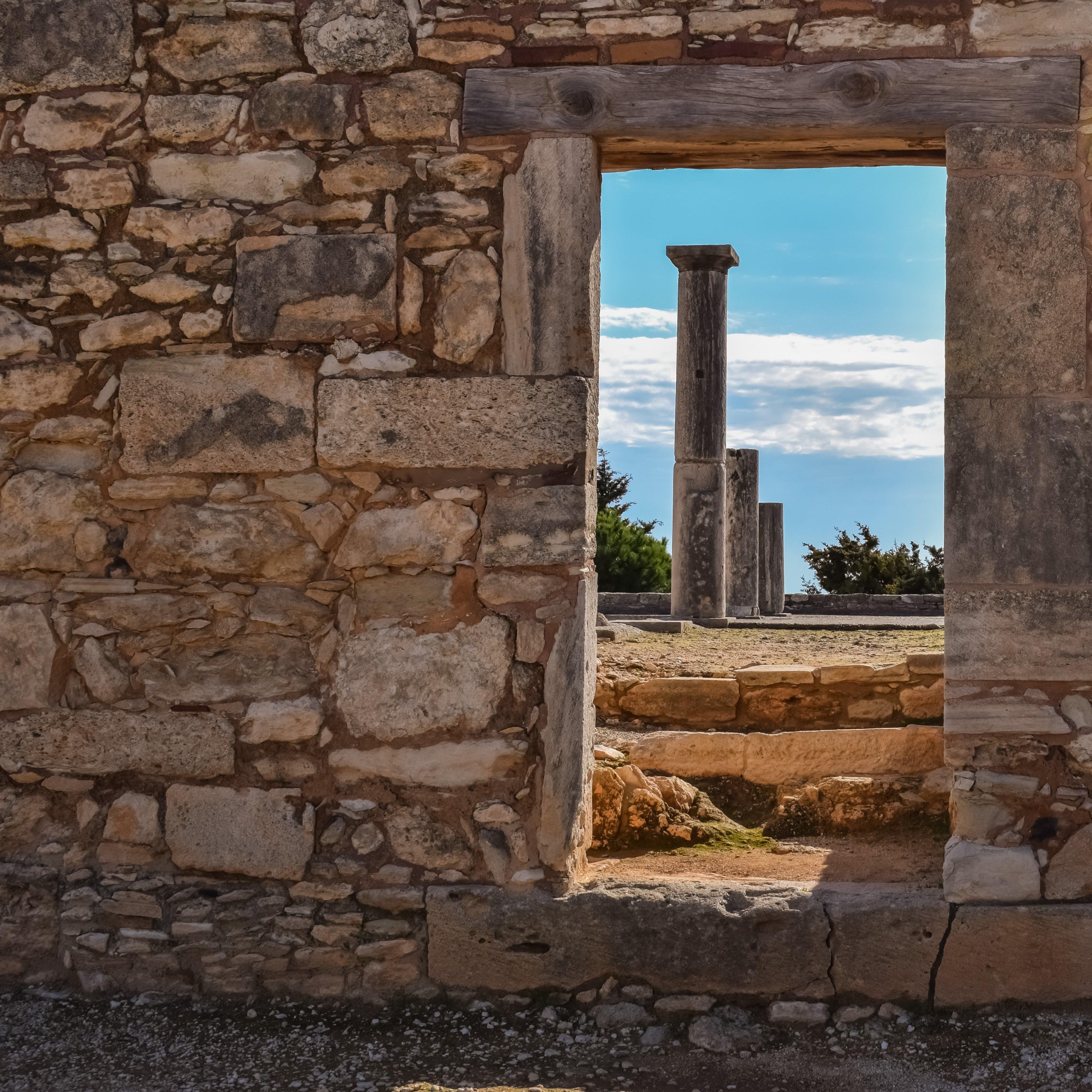 Free stock photo of architecture, door, history, columns