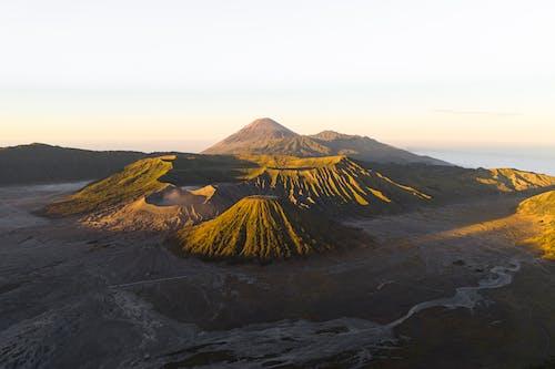 丘陵, 印尼, 地平線, 地質學 的 免費圖庫相片