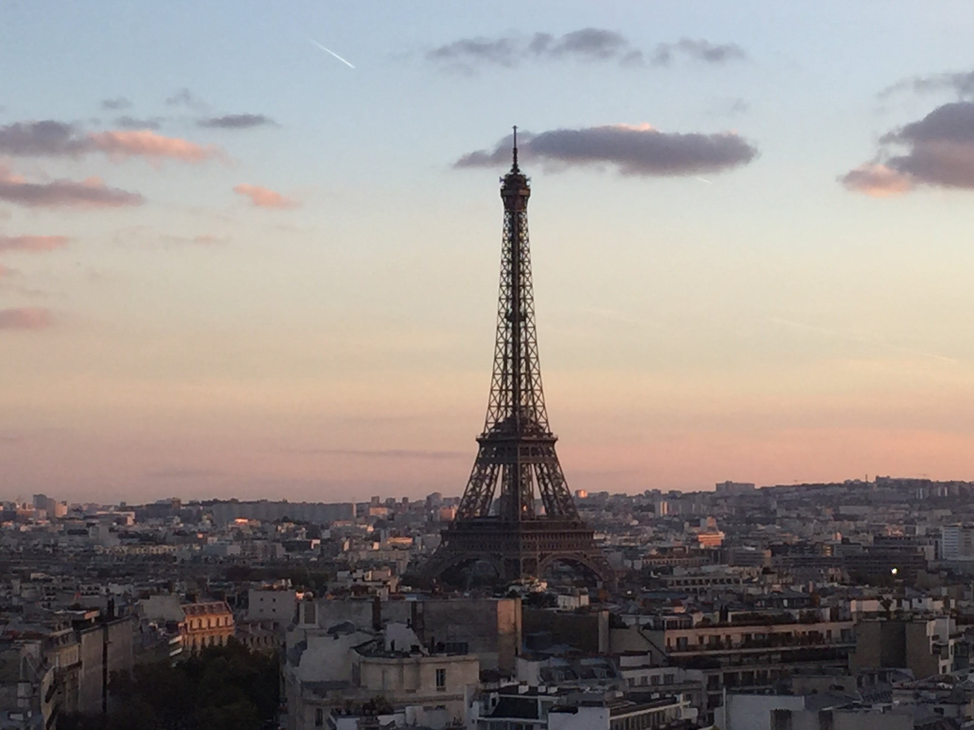 Free stock photo of architecture, dusk, eiffel tower, famous