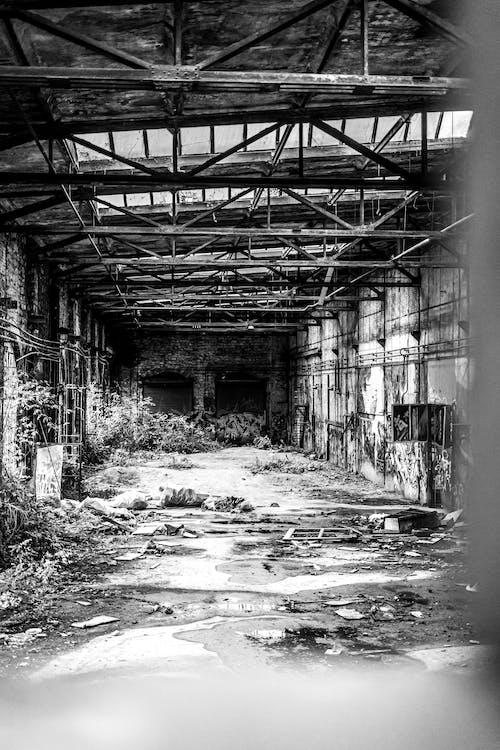 Gratis lagerfoto af fabrik