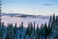 cold, landscape, mountains