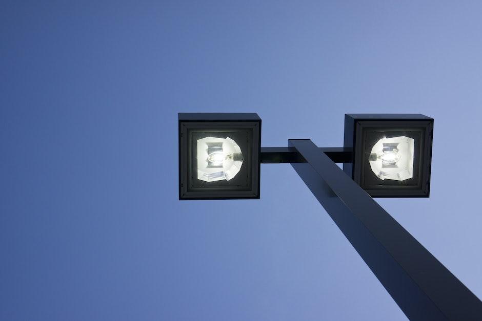illuminate, lamppost, lantern