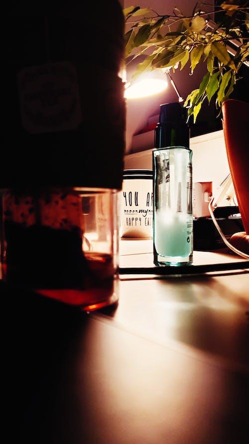 arka ışık, Çay, Çay bardağı, Ilık içeren Ücretsiz stok fotoğraf