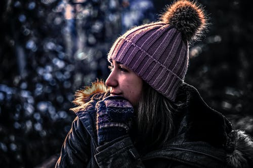 Free stock photo of canadian, cold, cute, female