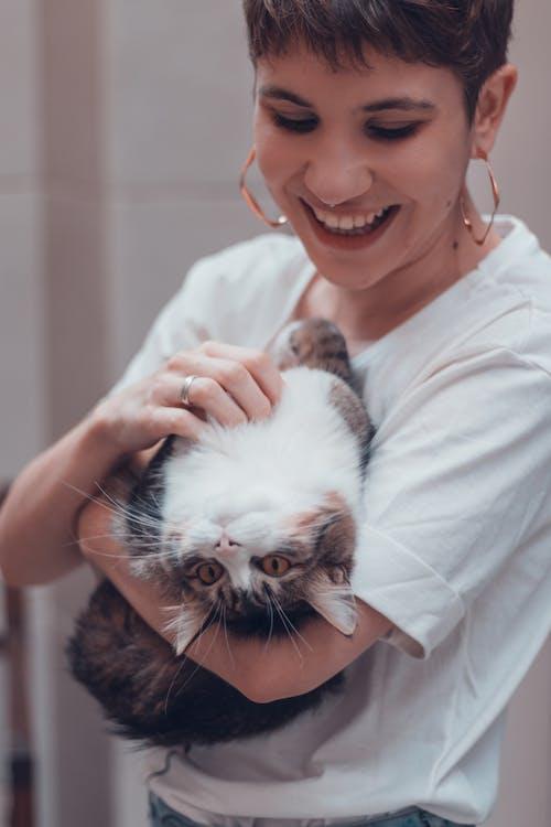 dişi, Evcil Hayvan, gülümsemek, hayvan içeren Ücretsiz stok fotoğraf