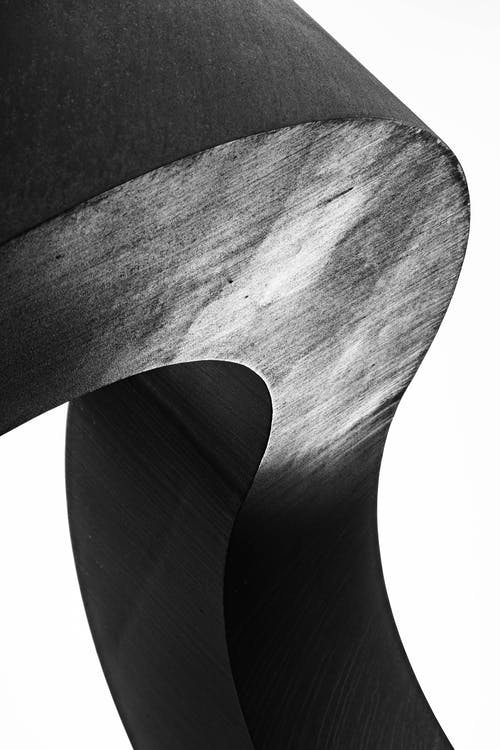 Close-up Of  A Wood In Grayscale Photography