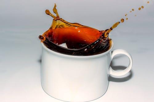 Darmowe zdjęcie z galerii z aromat, brązowy, bryzgać, czarna kawa