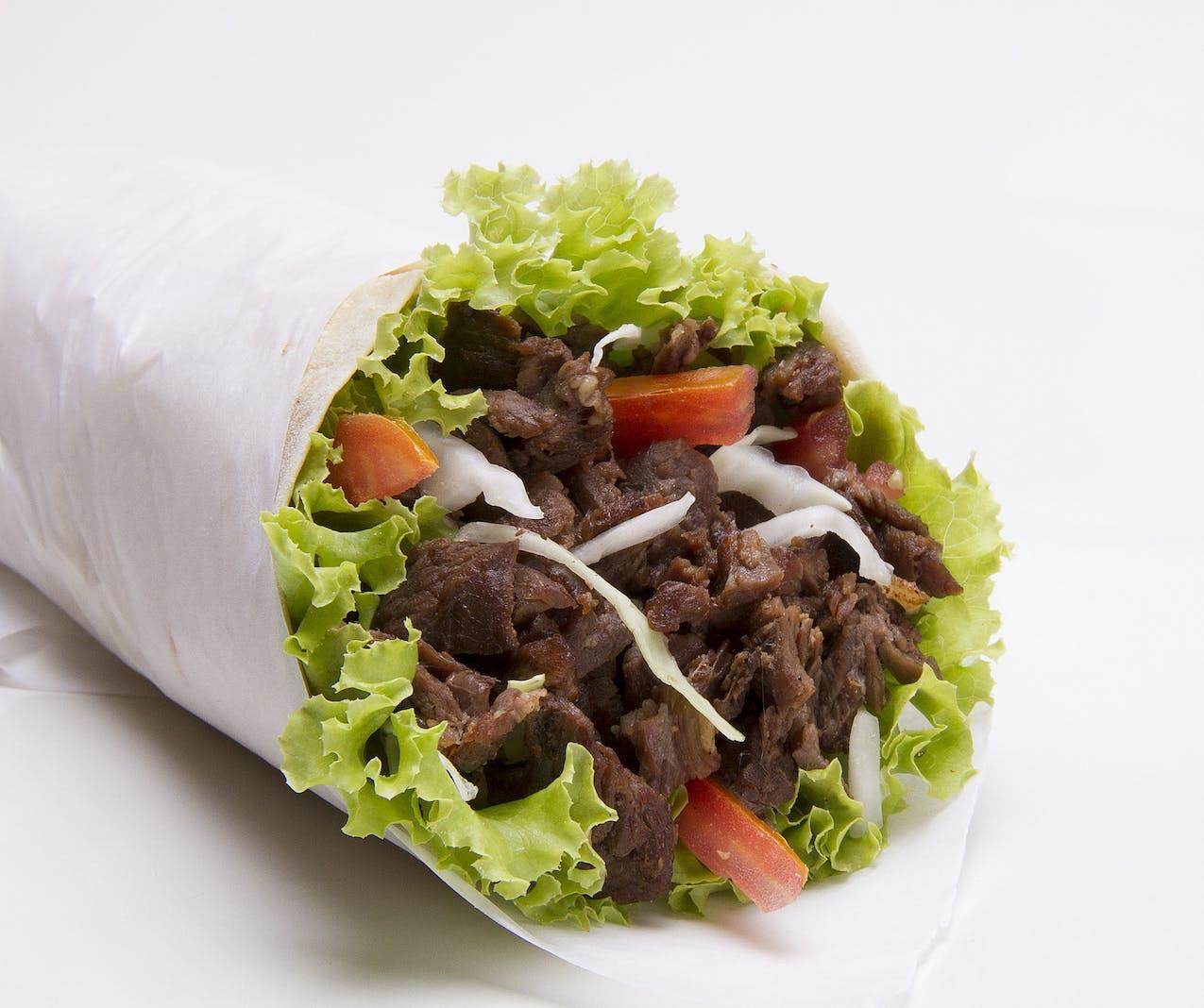 Potato Onion and Hamburger Burrito Recipe