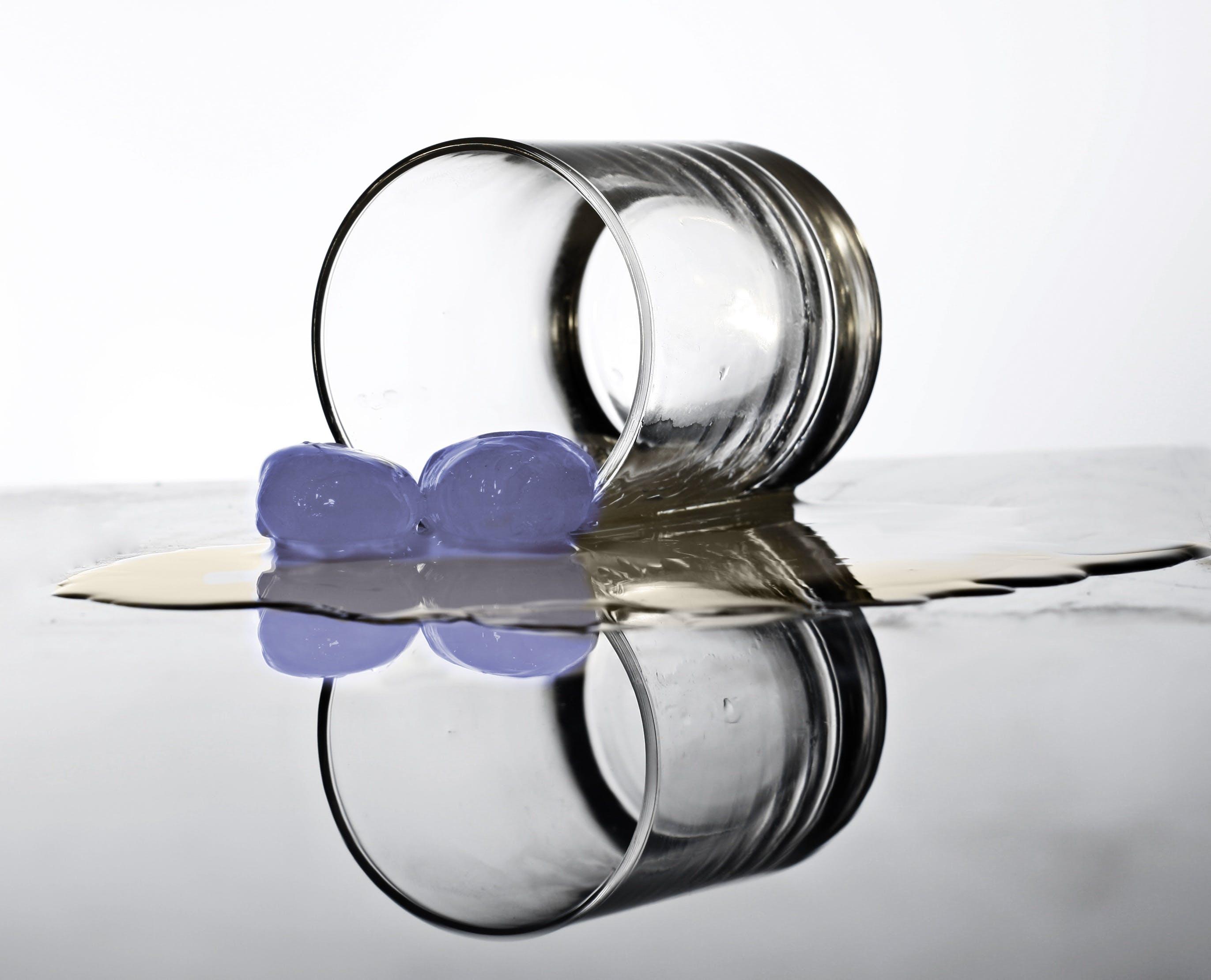 Fotos de stock gratuitas de beber, cristal, cubitos de hielo, reflejo