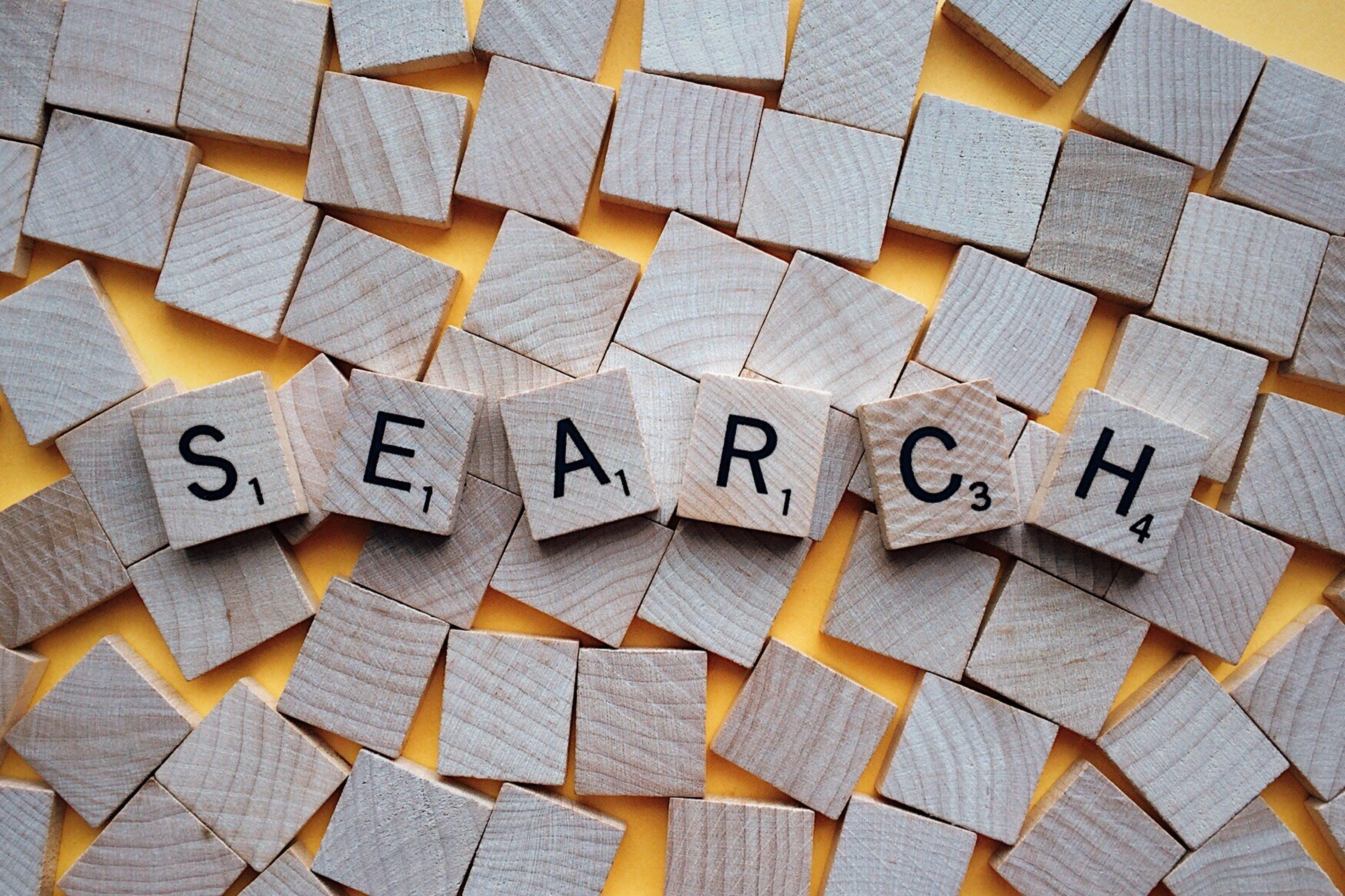 buscar, cercar, conceptual