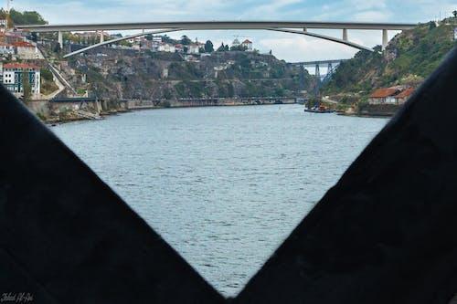 Free stock photo of bridge, frame, Porto