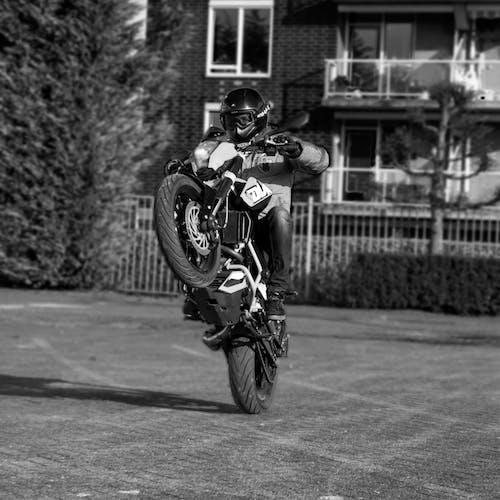 คลังภาพถ่ายฟรี ของ 125cc, motard, supermoto, wheelie
