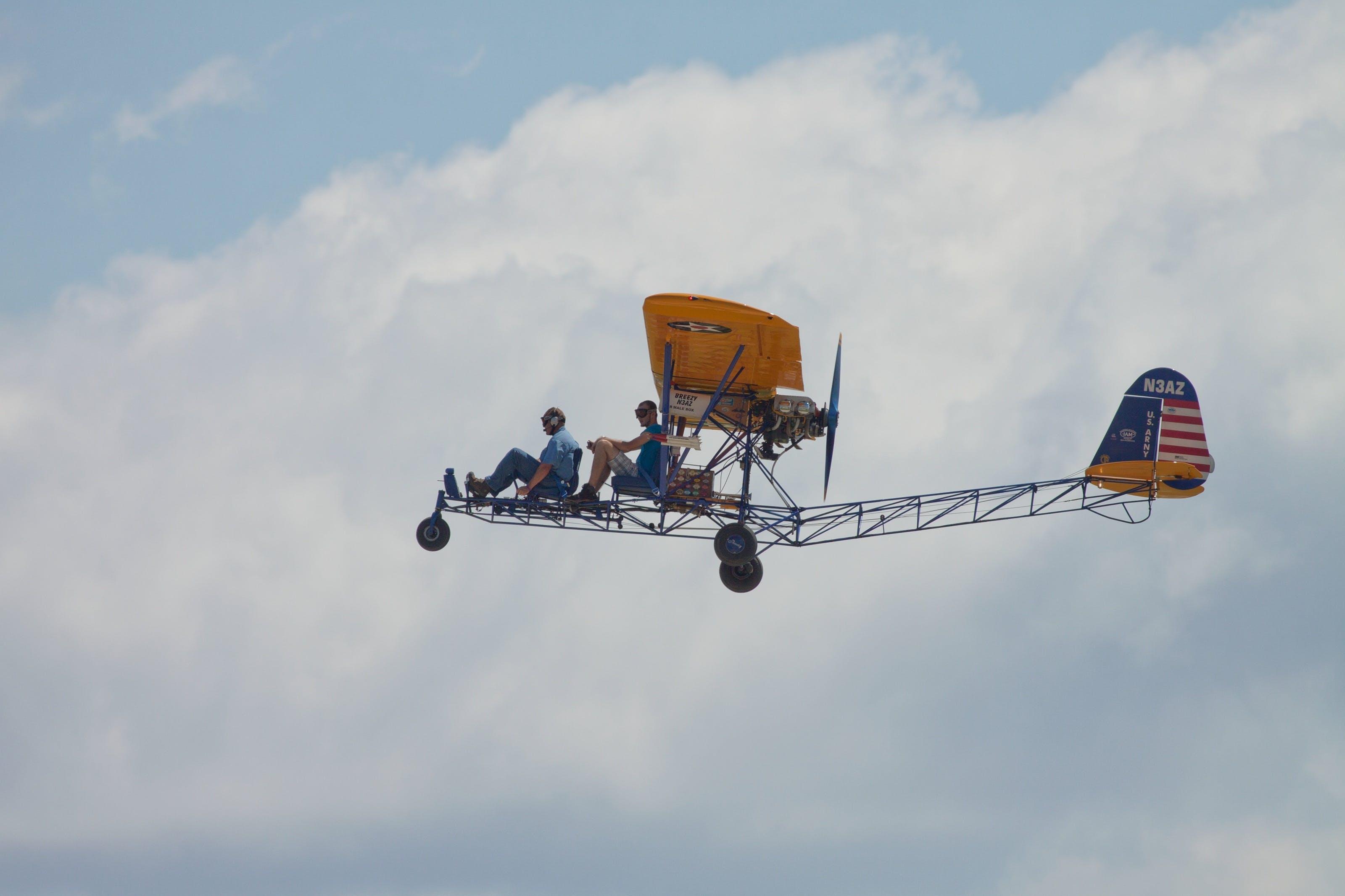 Free stock photo of flight, sky, airplane, plane