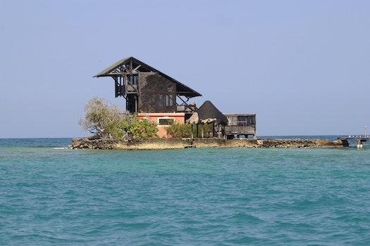 Free stock photo of sea, beach, island, colombia