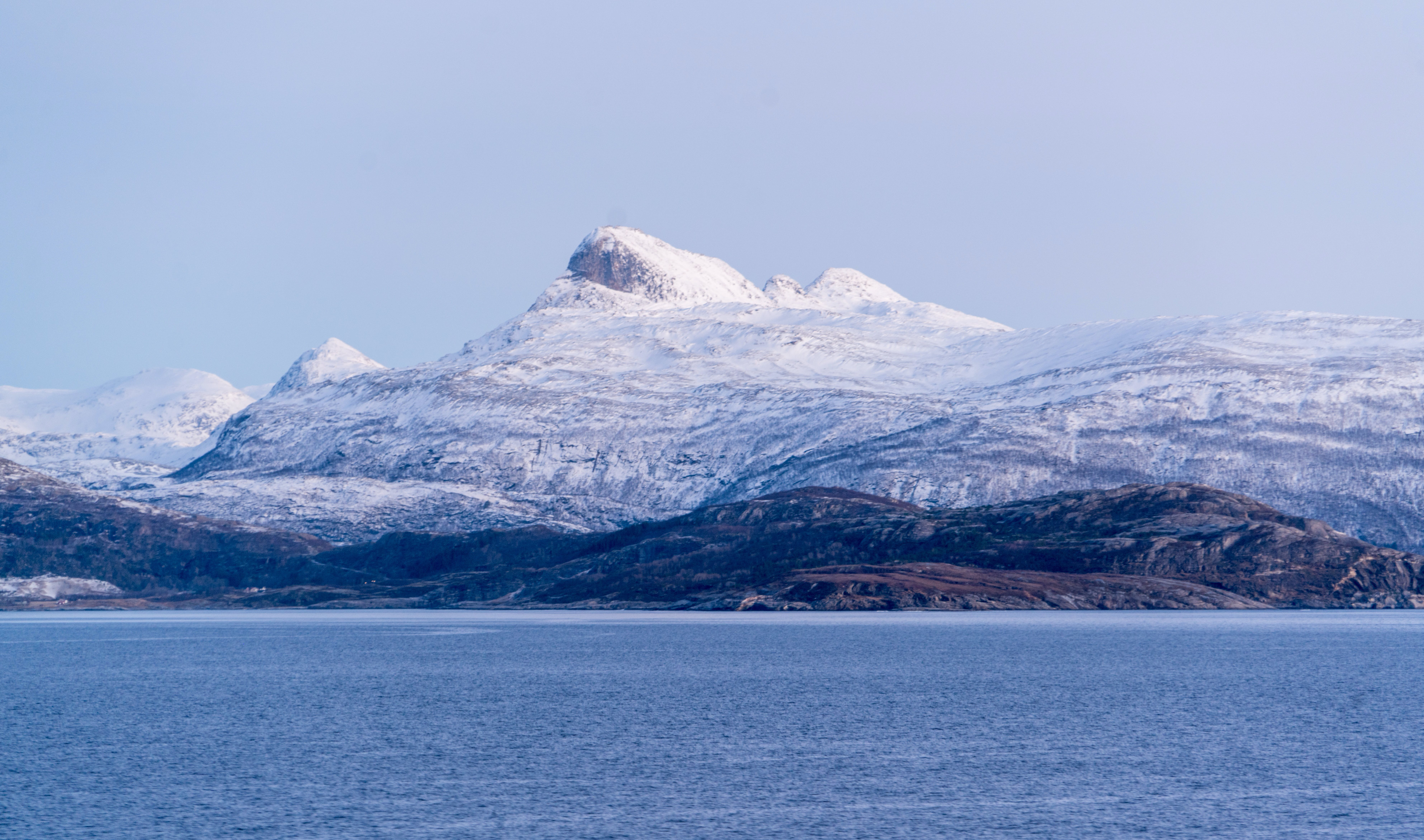 Free stock photo of snow, sea, landscape, nature