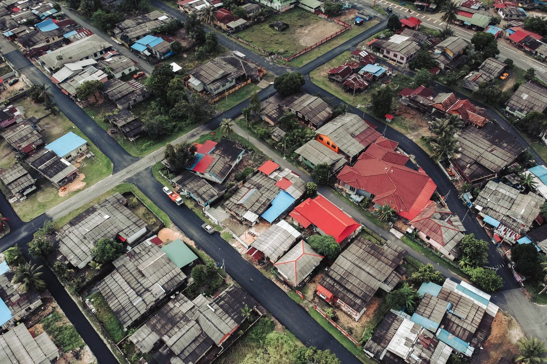 Aerial Photography of A Town
