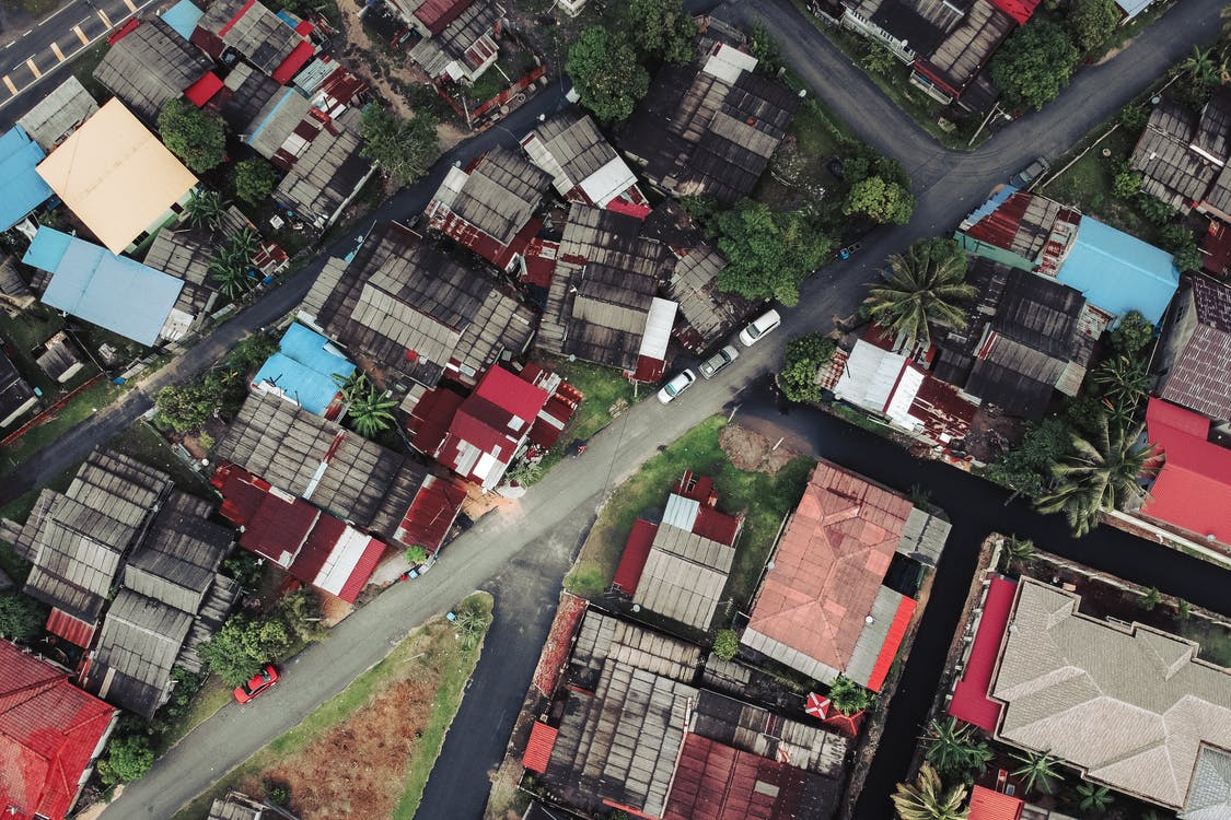 Bird's Eye View Photo of A Town