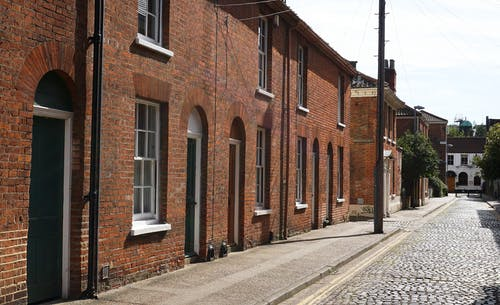 Buildings With Brick Walls