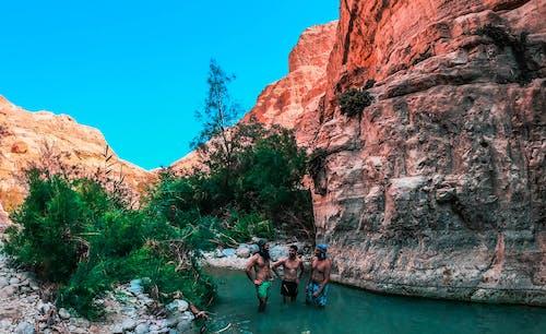 Free stock photo of adventure, boys, color, desert