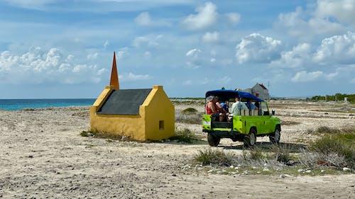 Free stock photo of 4x4, beach, blue, Bonaire