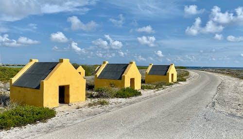Free stock photo of beach, blue, boat, Bonaire